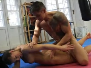 Sex with a male stripper